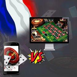 Casino mobile vs PC